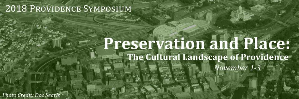 Providence Symposium, an educational program organized by the Providence Preservation Society
